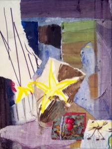 01-15cm X20cm. Fletcher Moss Dusk 2. Collage.