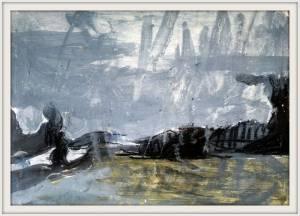 01-A4.Storm Landscape.Semi Abstract. Chalk Pastel, Acrylic. - Copy