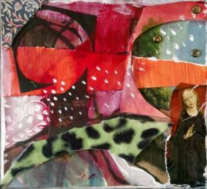 02-15cmx20cm. Rennaisance Pop. Collage.