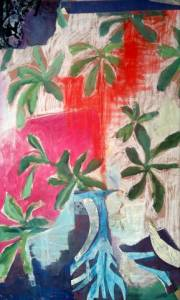04-A2. About Matisse. Acrylic, Pastel.