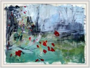 09-A4. Rosehips, Fletcher Moss. Acrylic. - Copy
